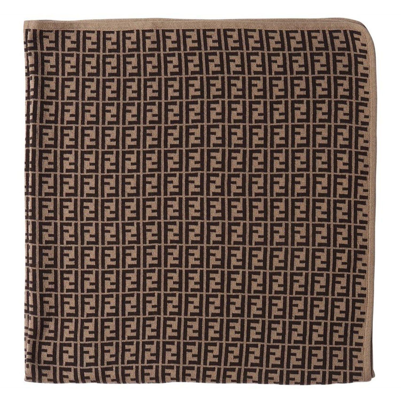 Picture of Fendi BUJ166 baby accessory brown