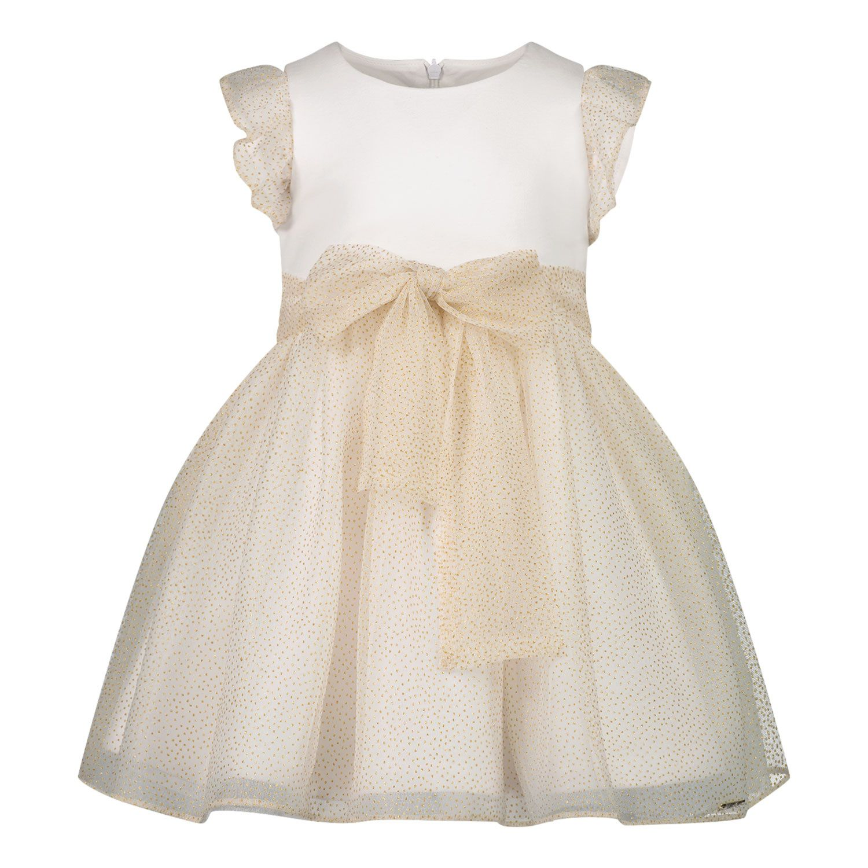 Picture of Liu Jo HA1021 baby dress gold