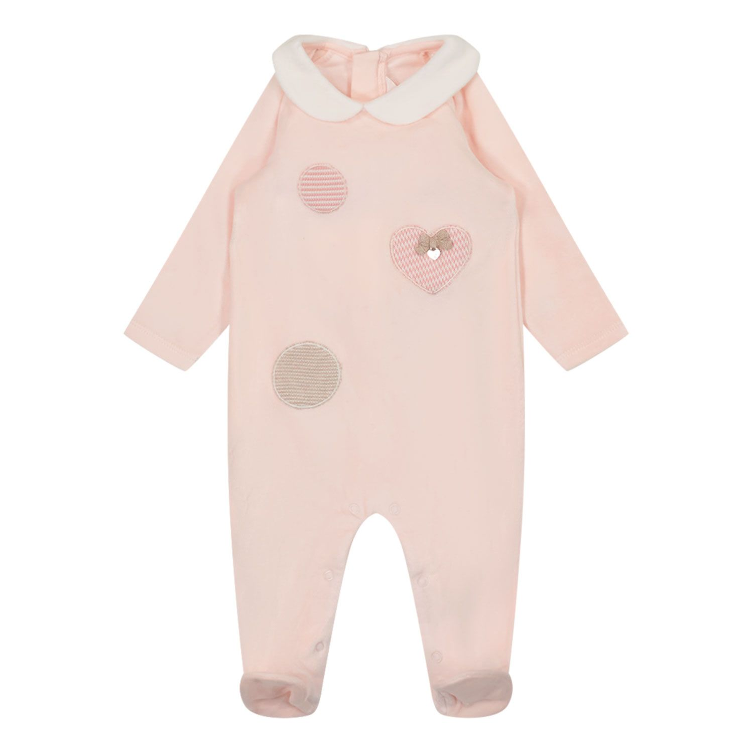 Picture of Mayoral 2664 baby playsuit light pink