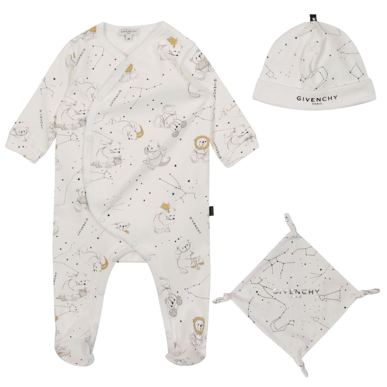 Bild von Givenchy H98118 Babystrampelanzug Weiß
