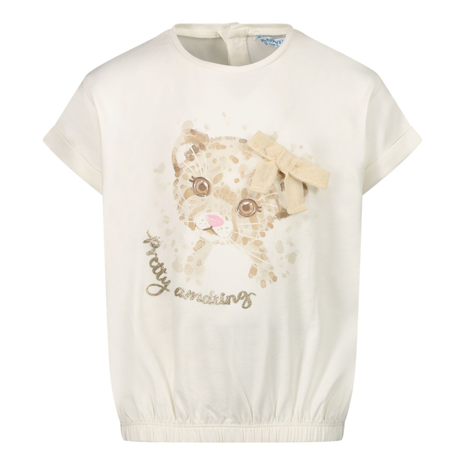 Picture of Mayoral 1092 baby shirt off white