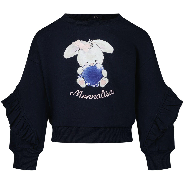 Bild von MonnaLisa 398618RM Babypullover Marine