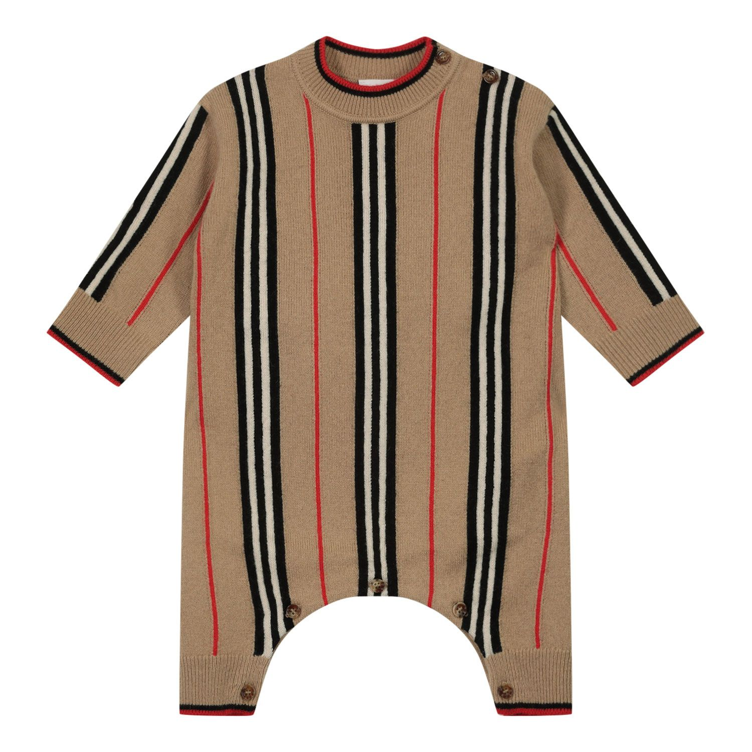 Picture of Burberry 8036568 baby playsuit beige