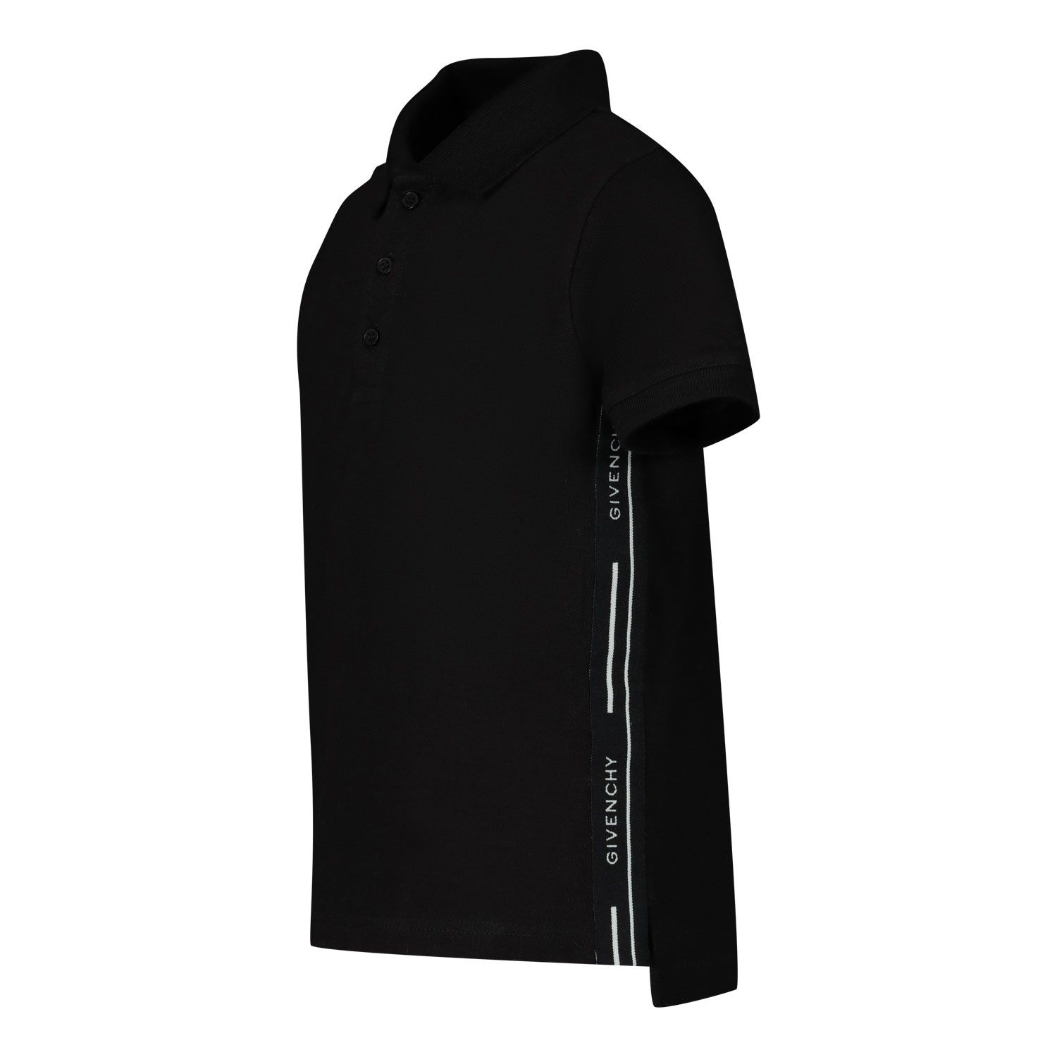 Picture of Givenchy H05138 baby poloshirt black