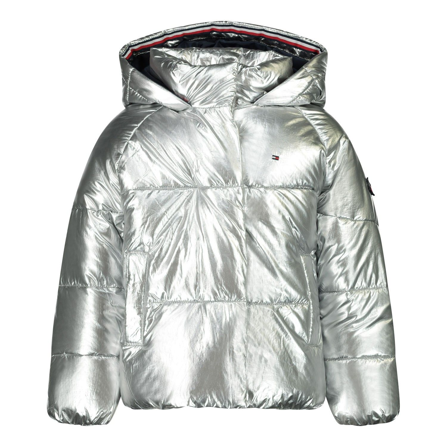 Picture of Tommy Hilfiger KG0KG05265B baby coat silver