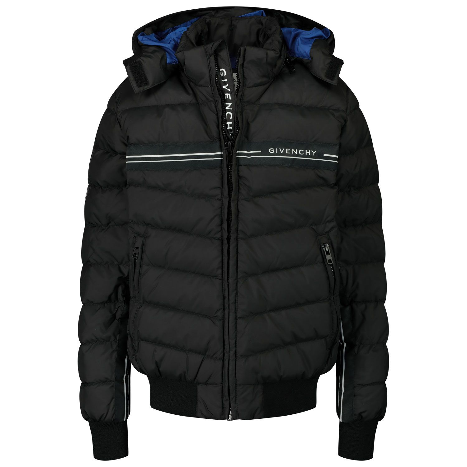 Picture of Givenchy H26061 kids jacket black
