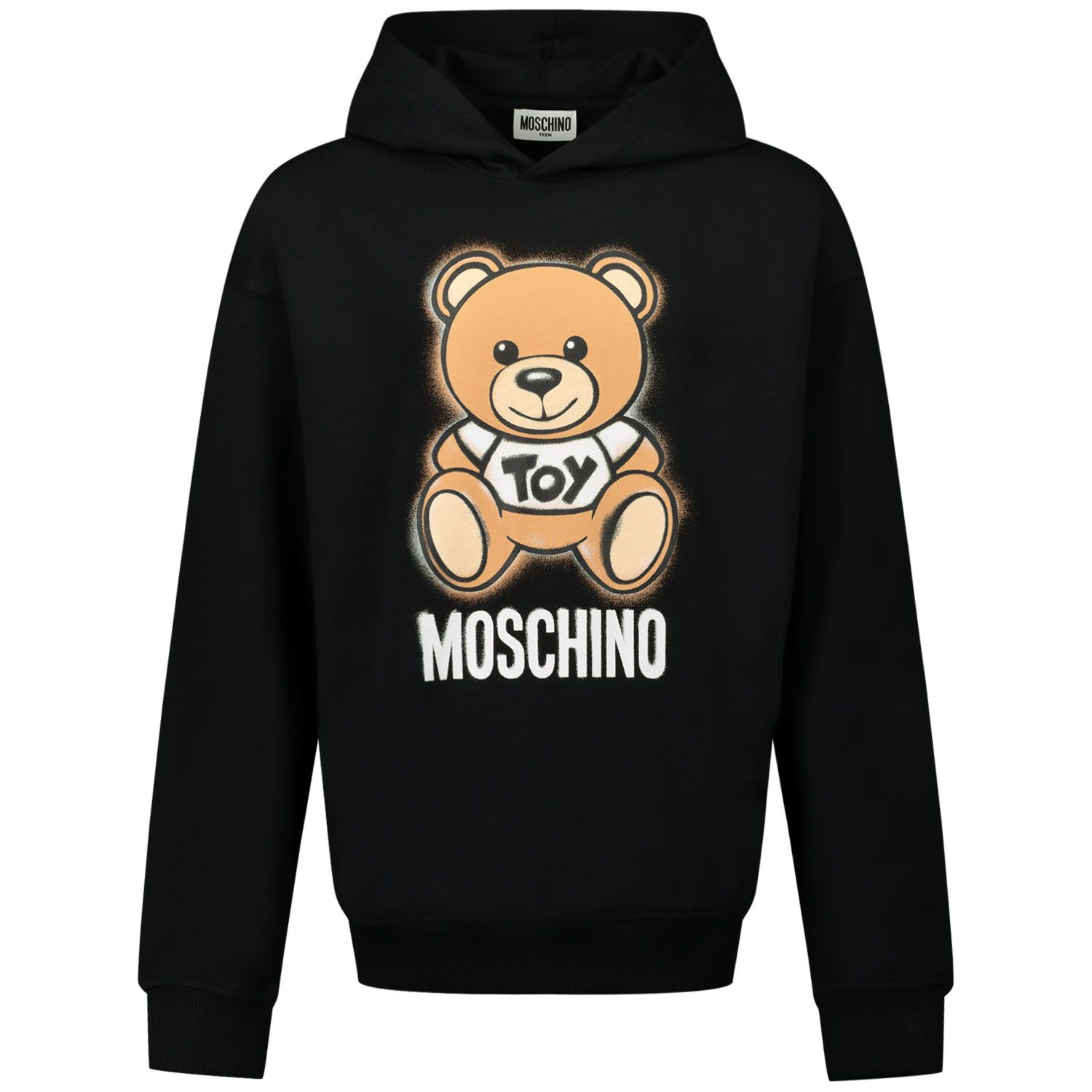 Picture of Moschino HNF03X kids sweater black