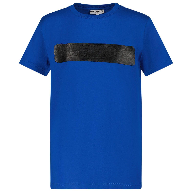 Bild von Givenchy H25283 Kindershirt Kobaltblau