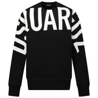 Picture of Dsquared2 DQ0537 kids sweater black