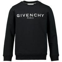 Picture of Givenchy H25J45 kids sweater black
