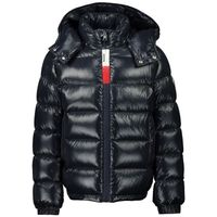 Picture of Moncler 1A54320 kids jacket navy