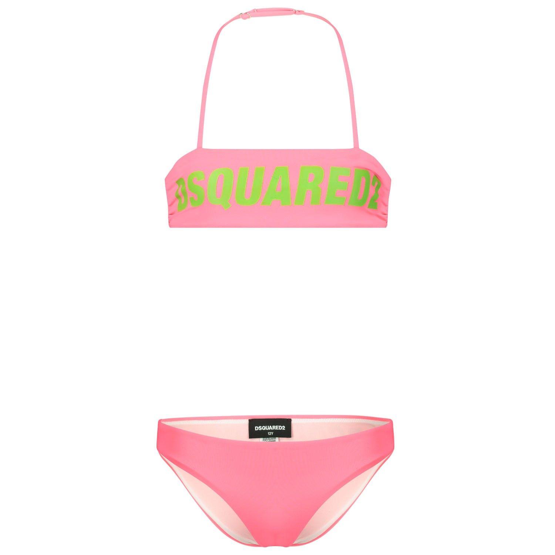 Bild von Dsquared2 DQ040U Kinderschwimmbekleidung Neonpink
