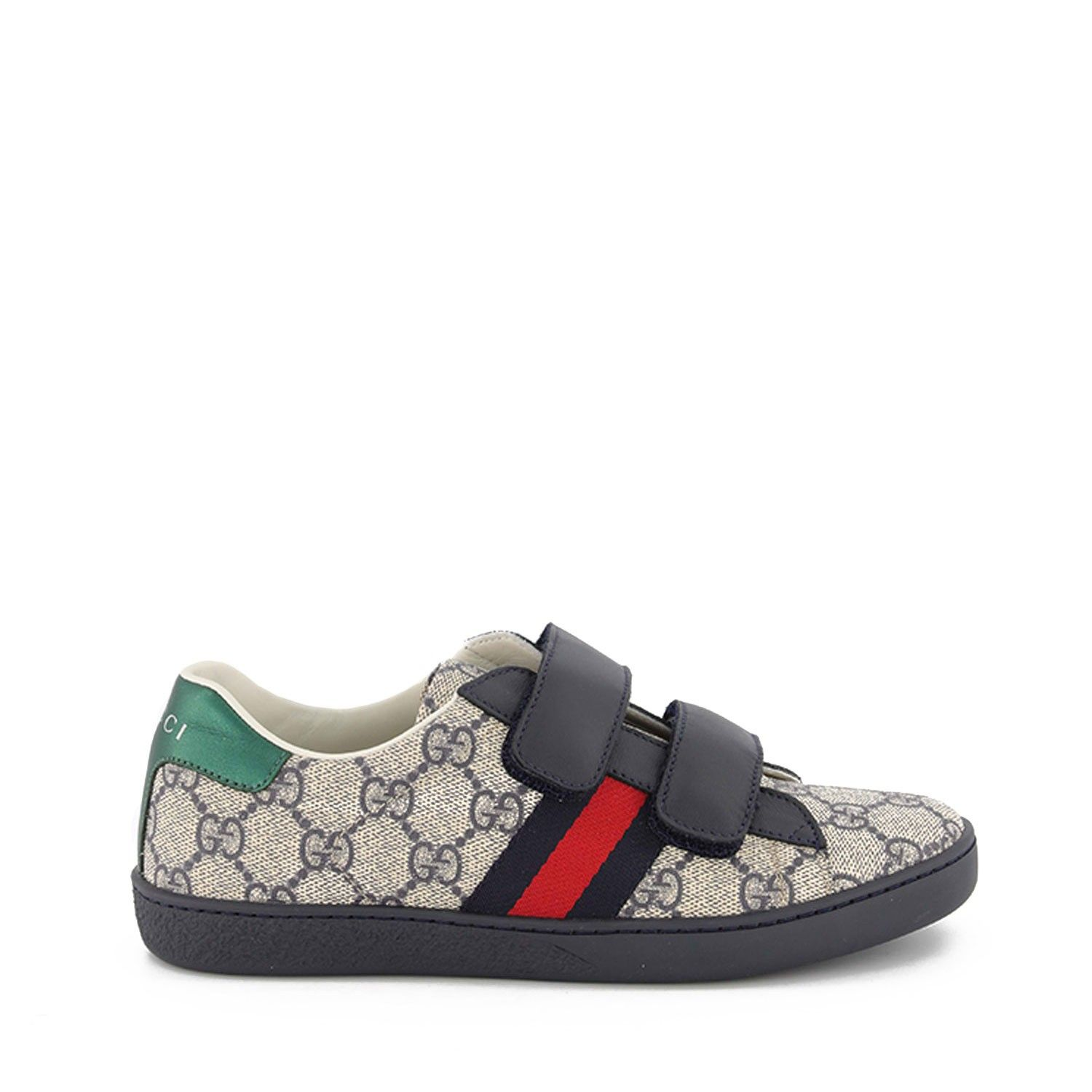 Picture of Gucci 463091 9C220 kids sneakers blue