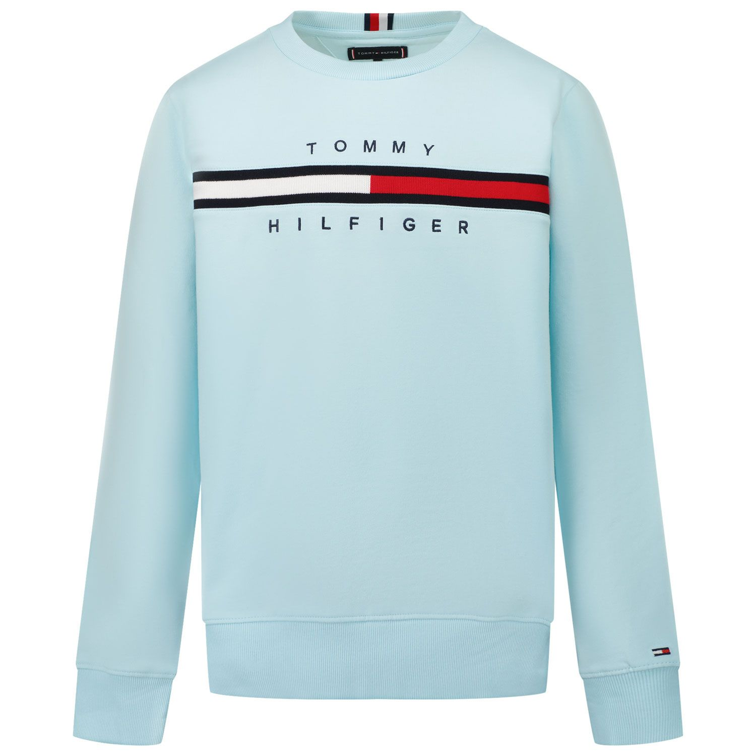Picture of Tommy Hilfiger KB0KB06568 kids sweater turquoise