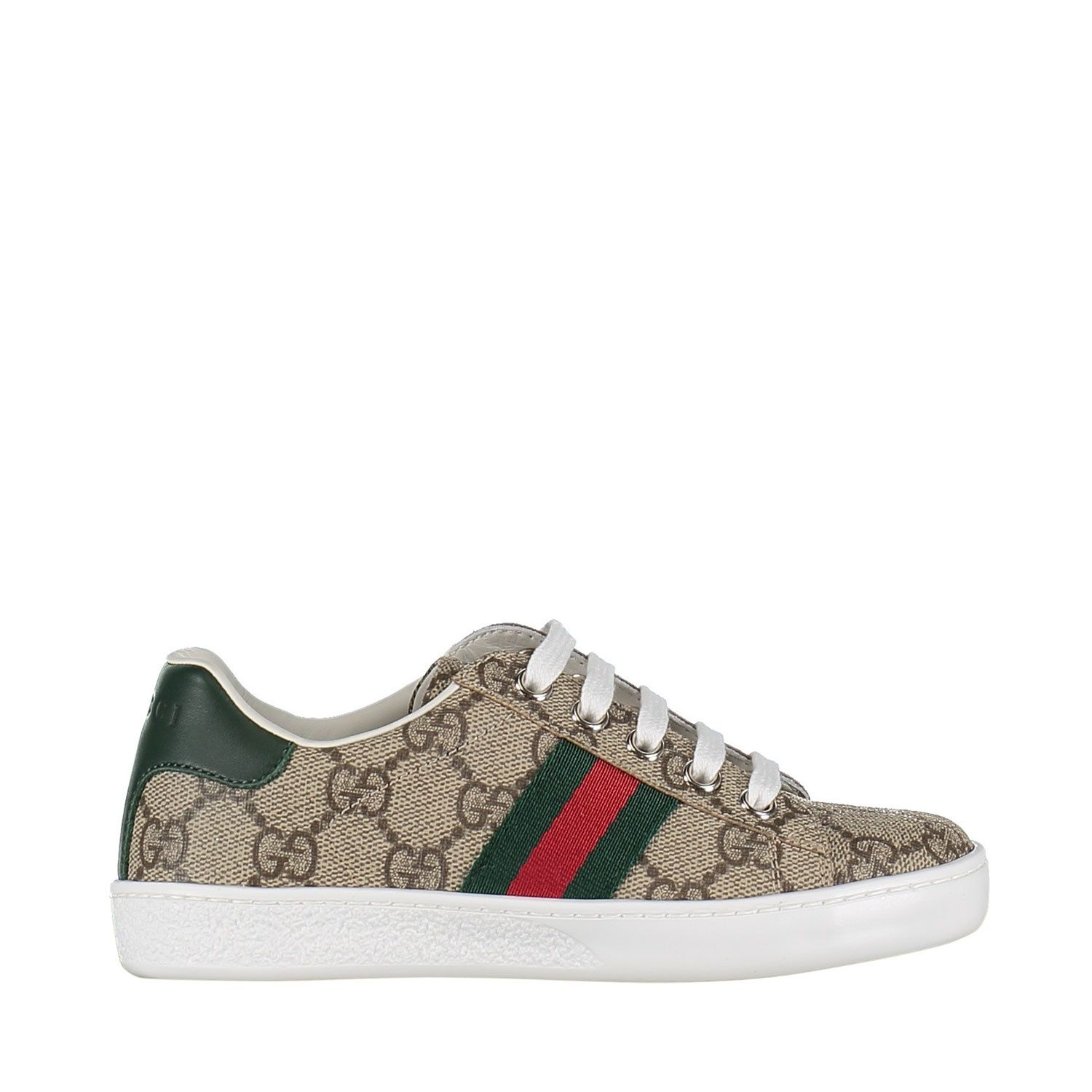 Picture of Gucci 433149 9C210 kids sneakers beige