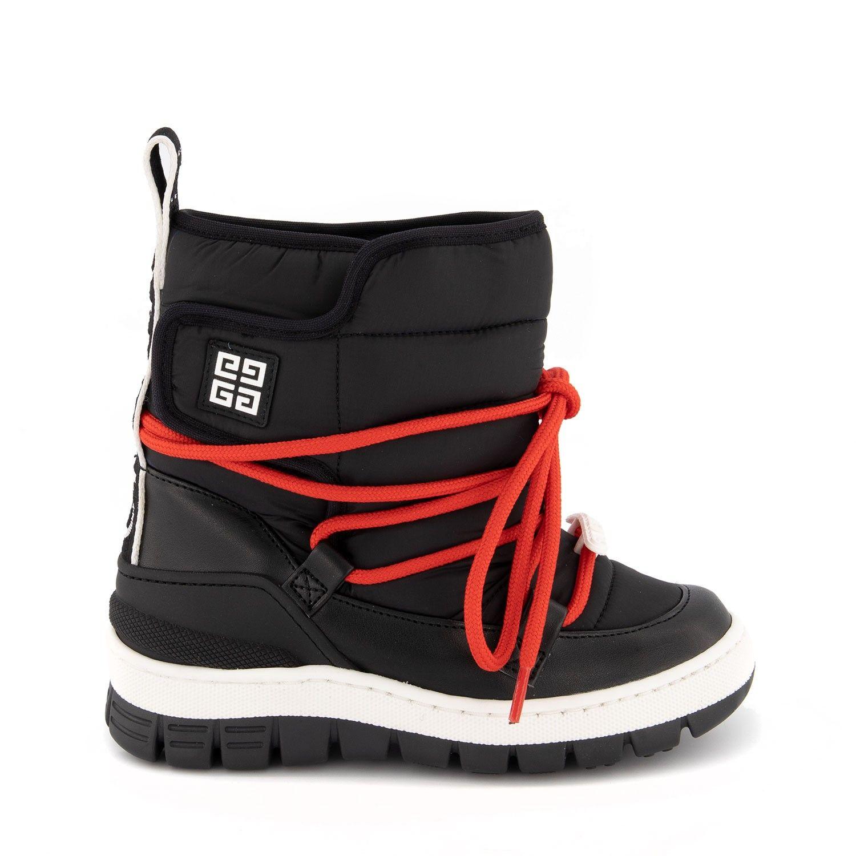 Bild von Givenchy H29024 Kinder Snowboots Schwarz