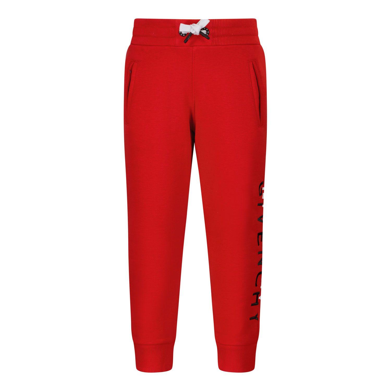 Afbeelding van Givenchy H04113 babybroekje rood