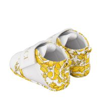 Picture of Versace 1000368 baby sneakers white