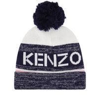 Picture of Kenzo KR90018 kids hat navy