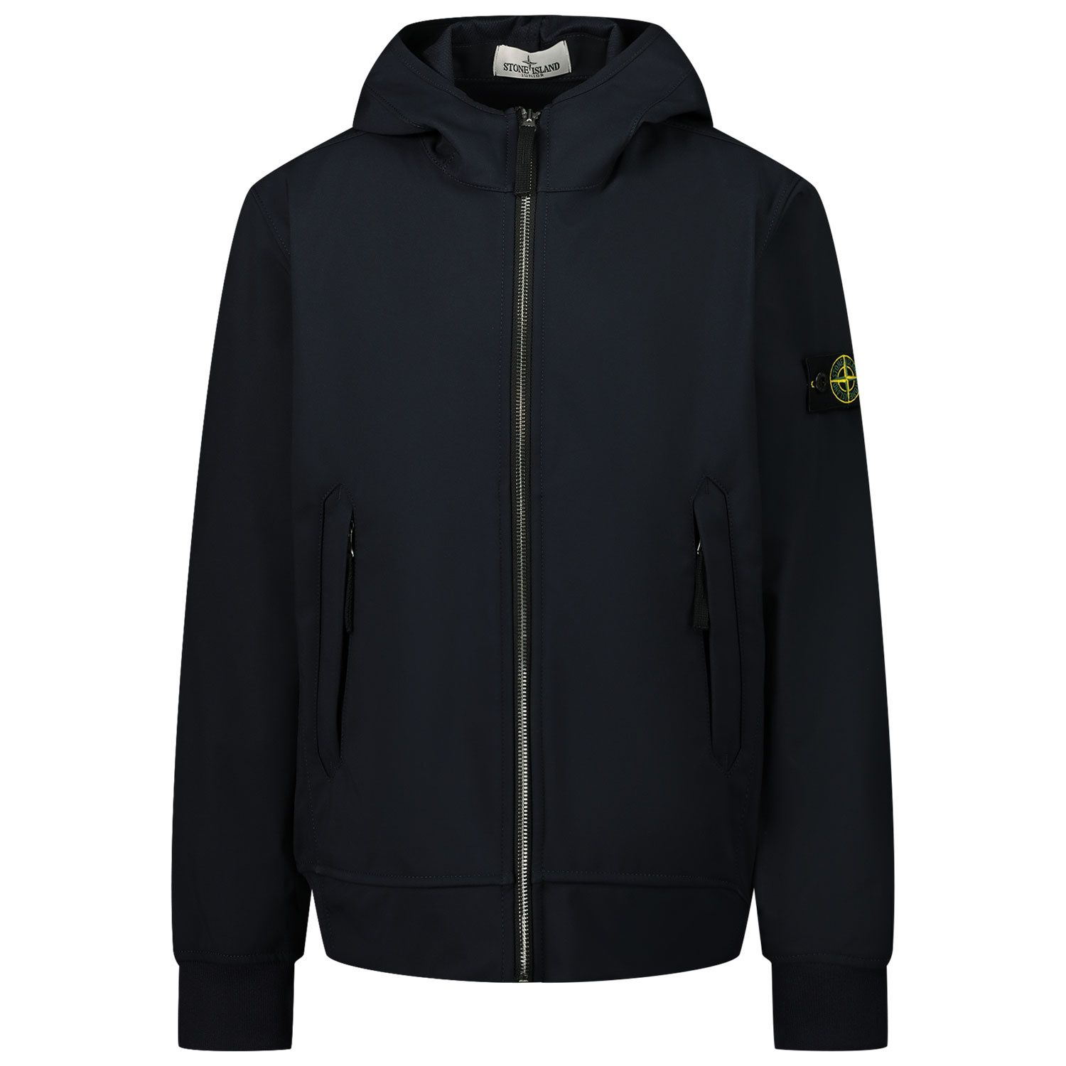Picture of Stone Island 40134 kids jacket navy