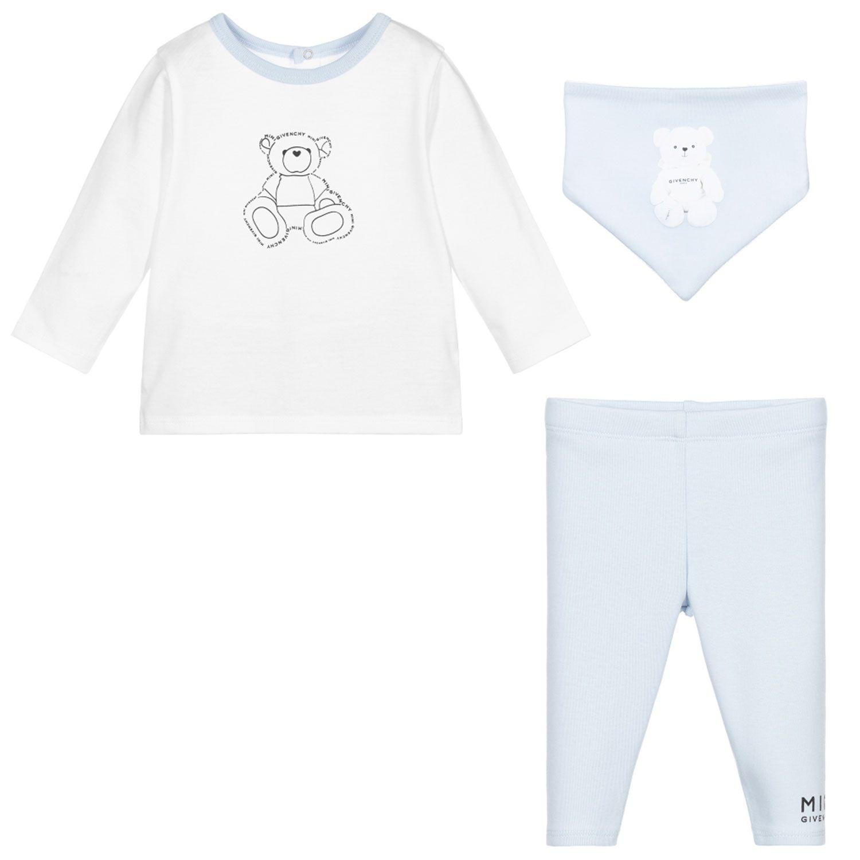 Afbeelding van Givenchy H98097 babysetje licht blauw