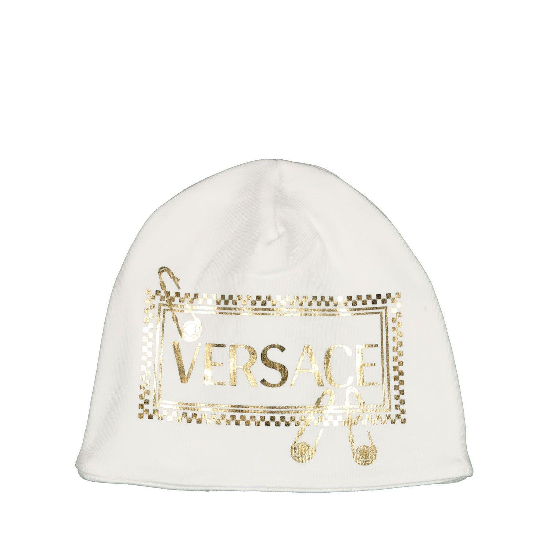 Afbeelding van Versace YE000140 babymutsje off white