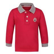 Bild von Moncler 8B70520 Babypoloshirt Rot