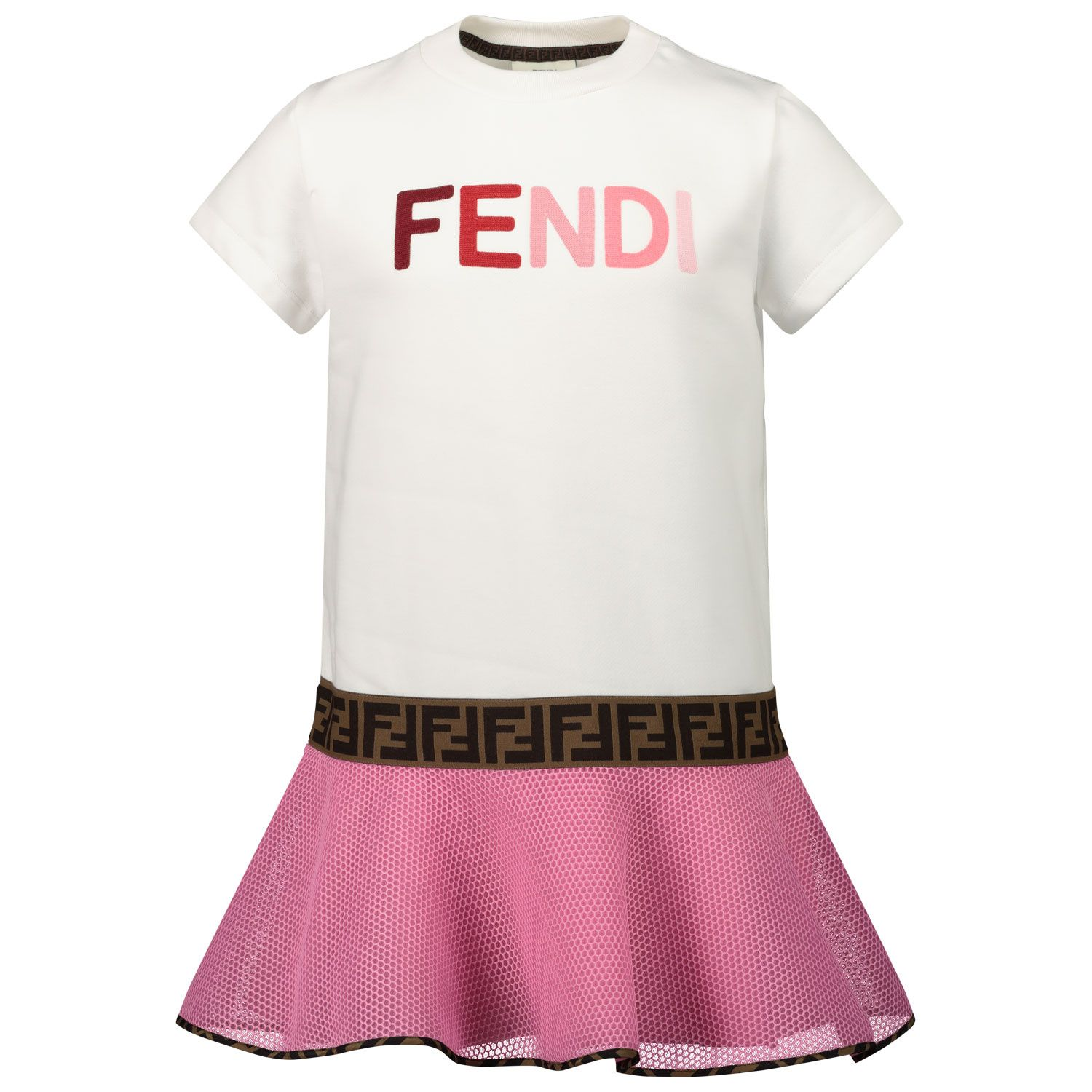 Picture of Fendi JFB381 kids dress pink