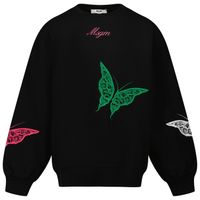 Picture of MSGM 27755 kids sweater black