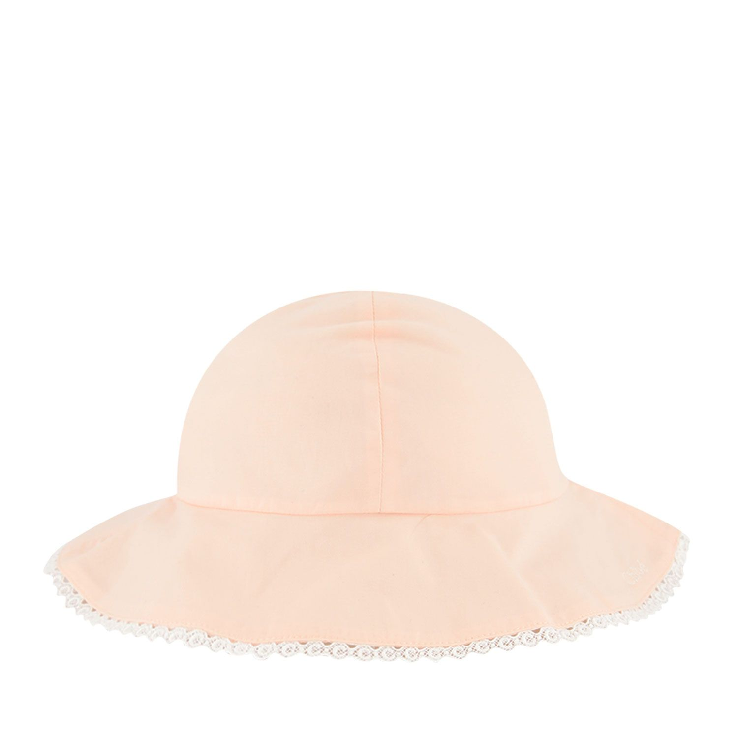 Picture of Chloé C01044 baby hat salmon