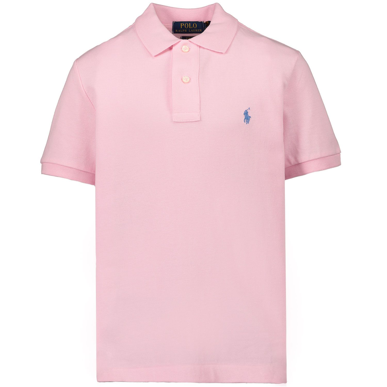 Picture of Ralph Lauren 323547926 kids polo shirt light pink