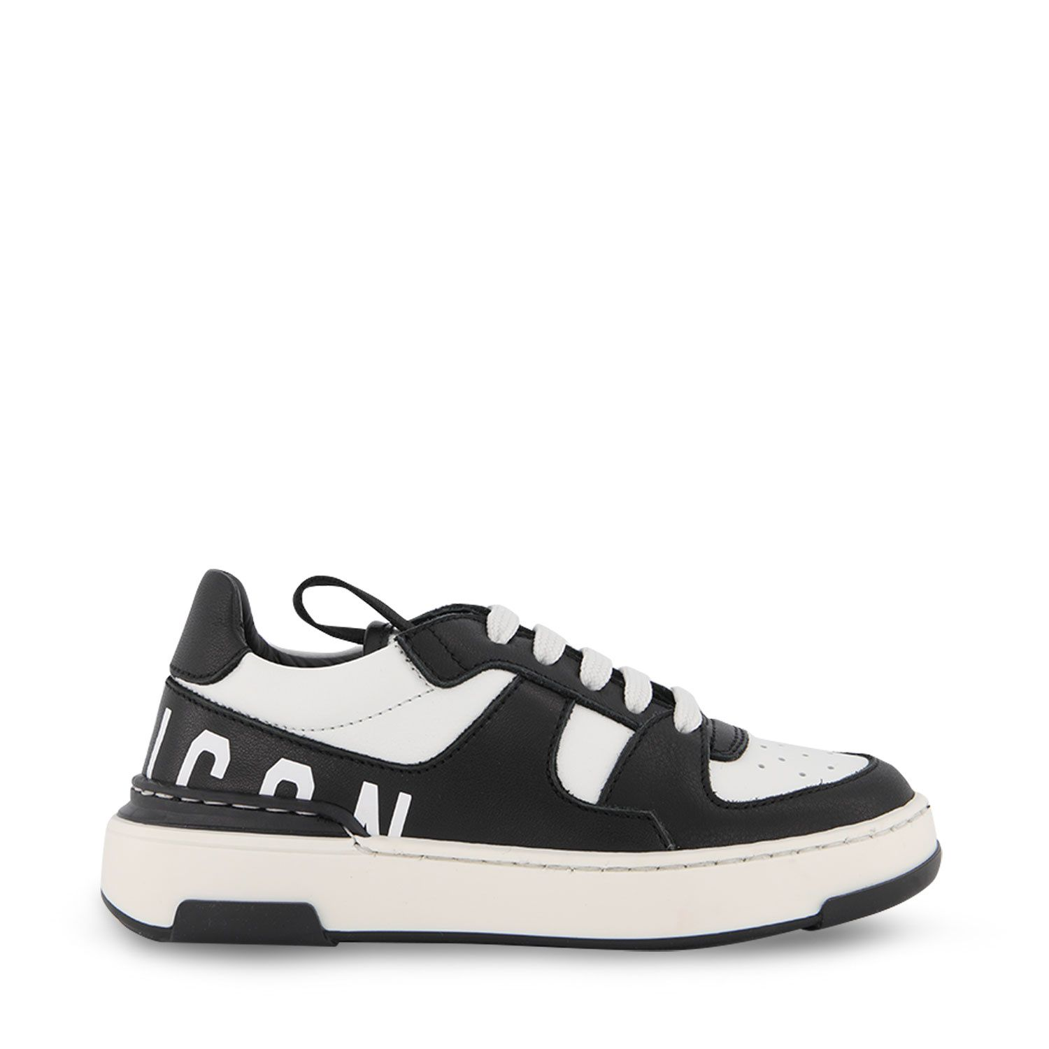 Picture of Dsquared2 68666 kids sneakers black
