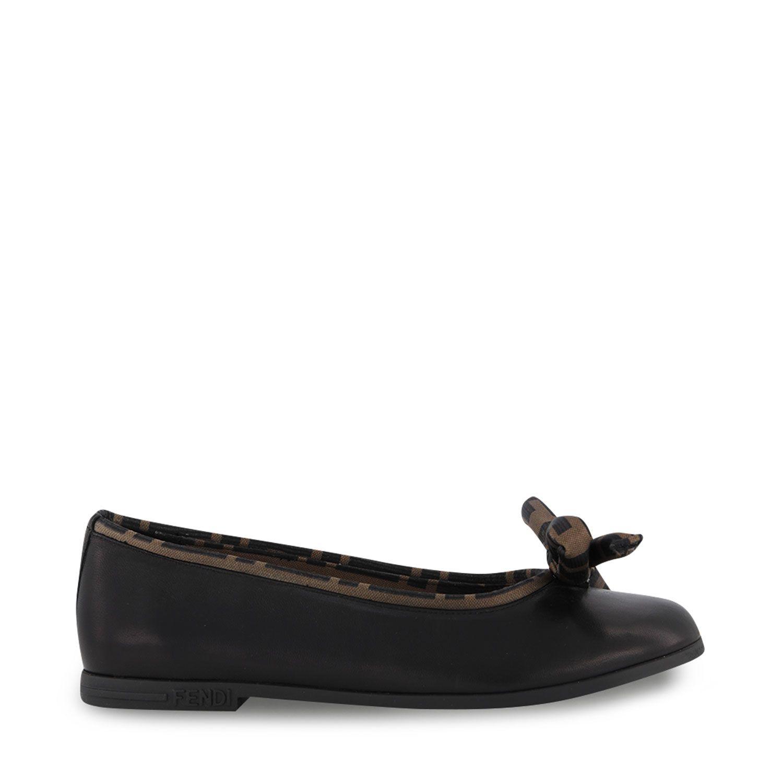 Picture of Fendi JFR314 kids shoes black