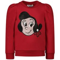 Picture of MonnaLisa 196614AG kids sweater red