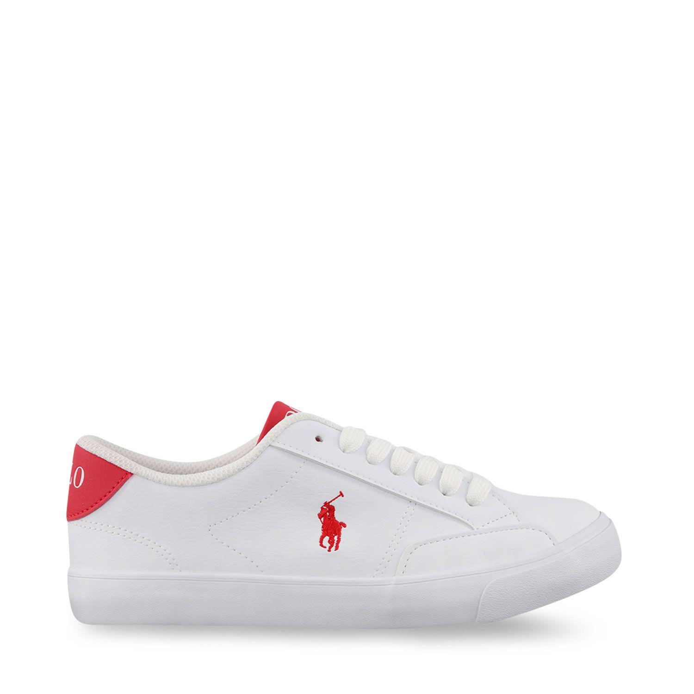 Picture of Ralph Lauren RF102979 kids sneakers white