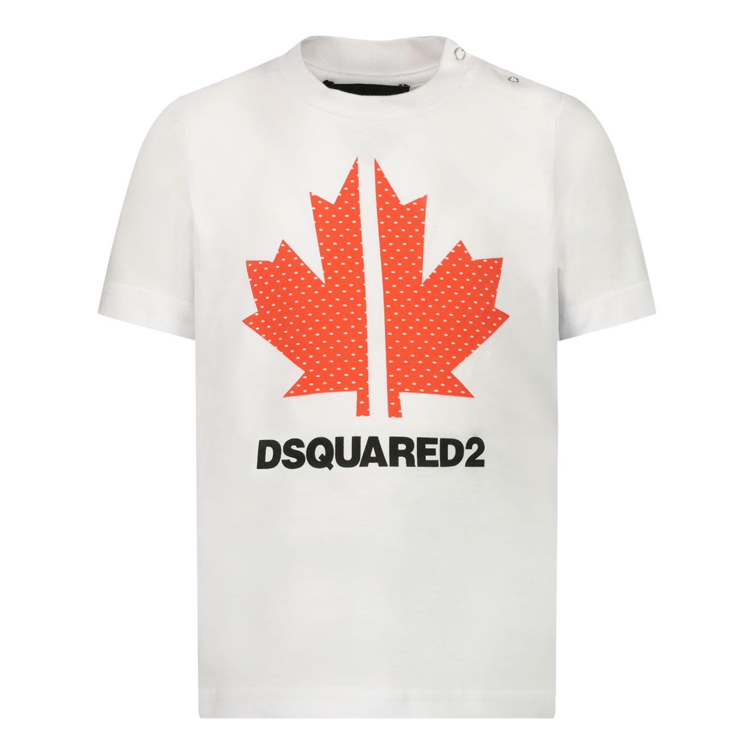 Picture of Dsquared2 DQ0029 baby shirt white