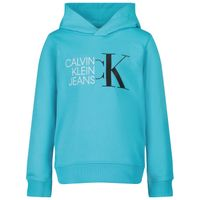 Picture of Calvin Klein IB0IB00799 kids sweater turquoise