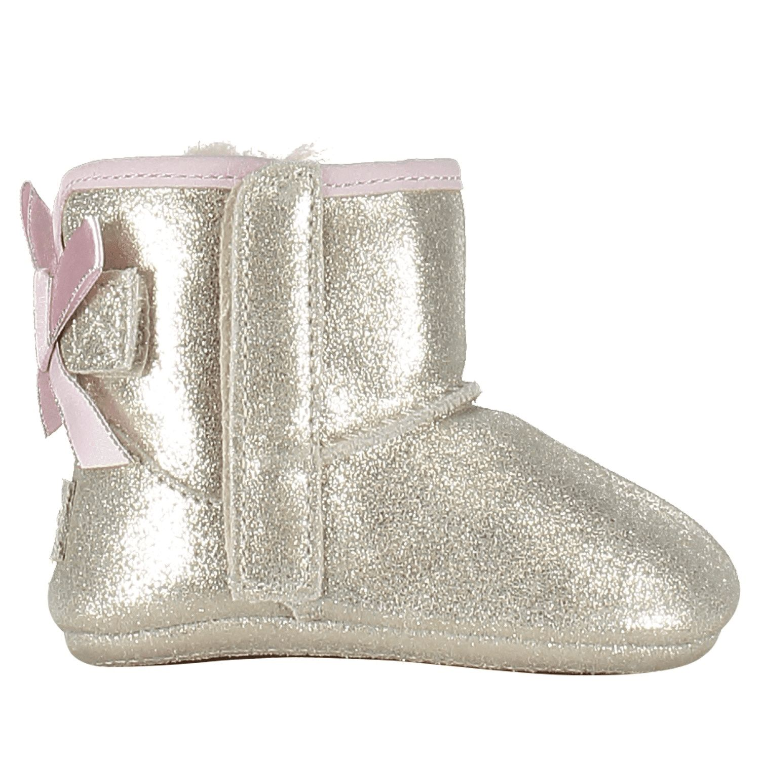 Picture of UGG 1019630I baby slippers gold