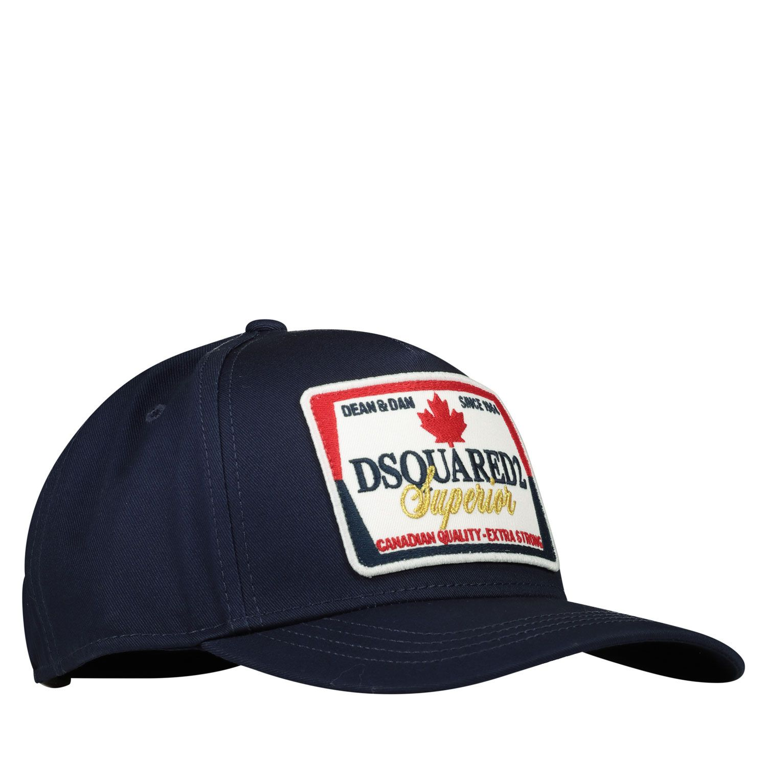 Picture of Dsquared2 DQ04AC kids cap navy