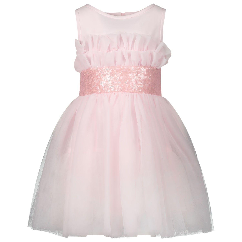 Picture of MonnaLisa 715901 kids dress light pink