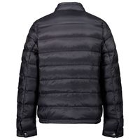 Picture of Moncler 1A13020 kids jacket navy