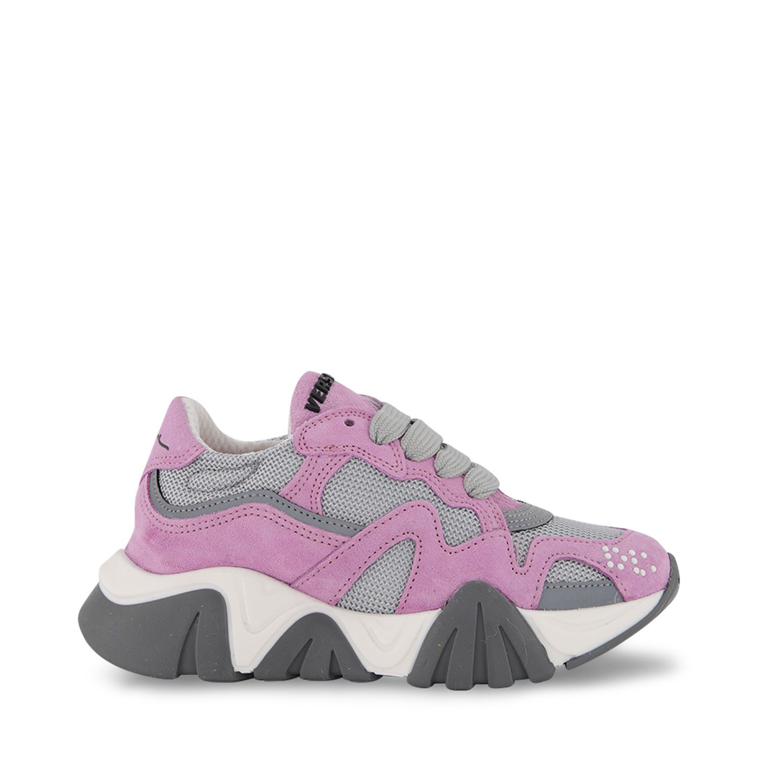 Picture of Versace 1A00461 kids sneakers pink