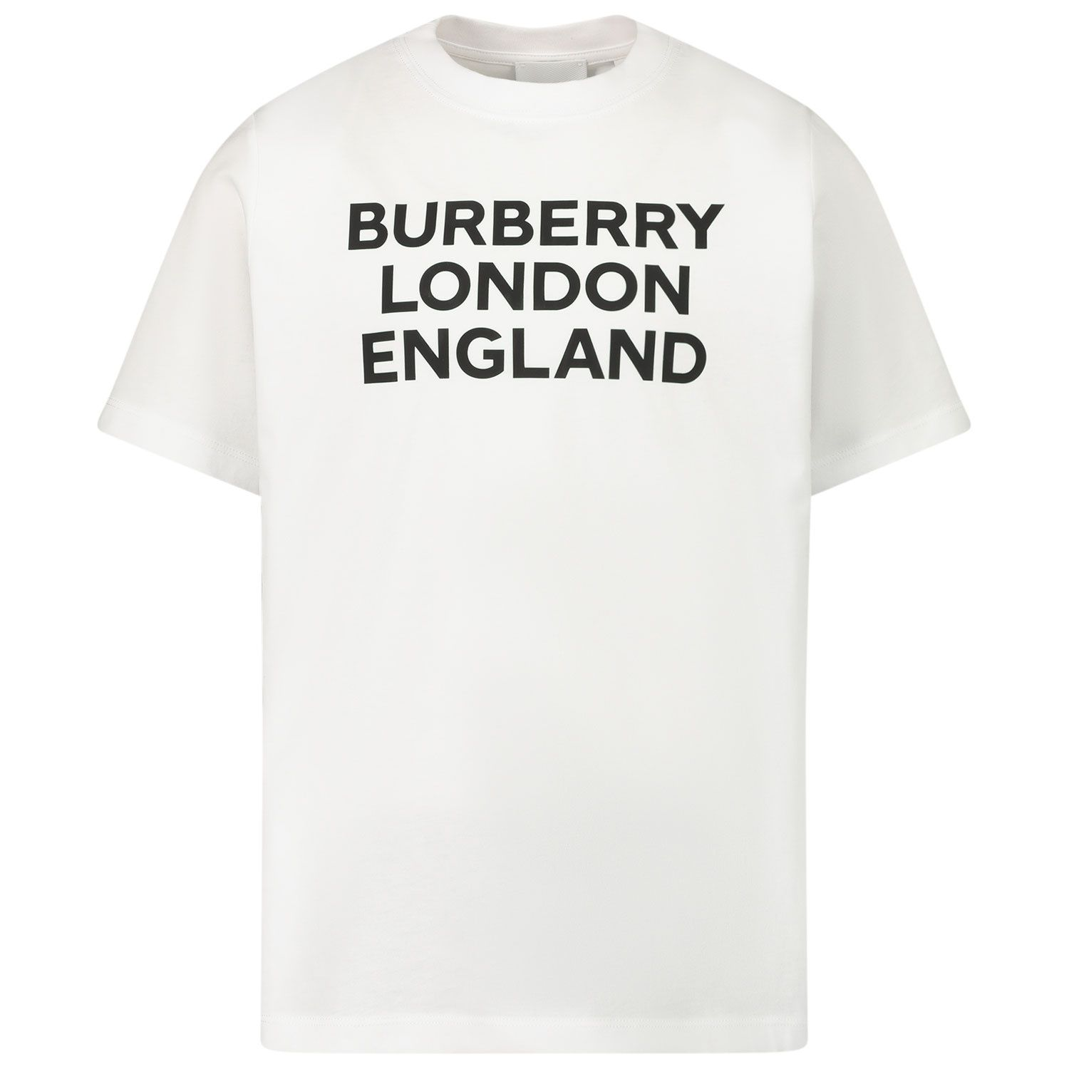 Picture of Burberry 8028811 kids t-shirt white