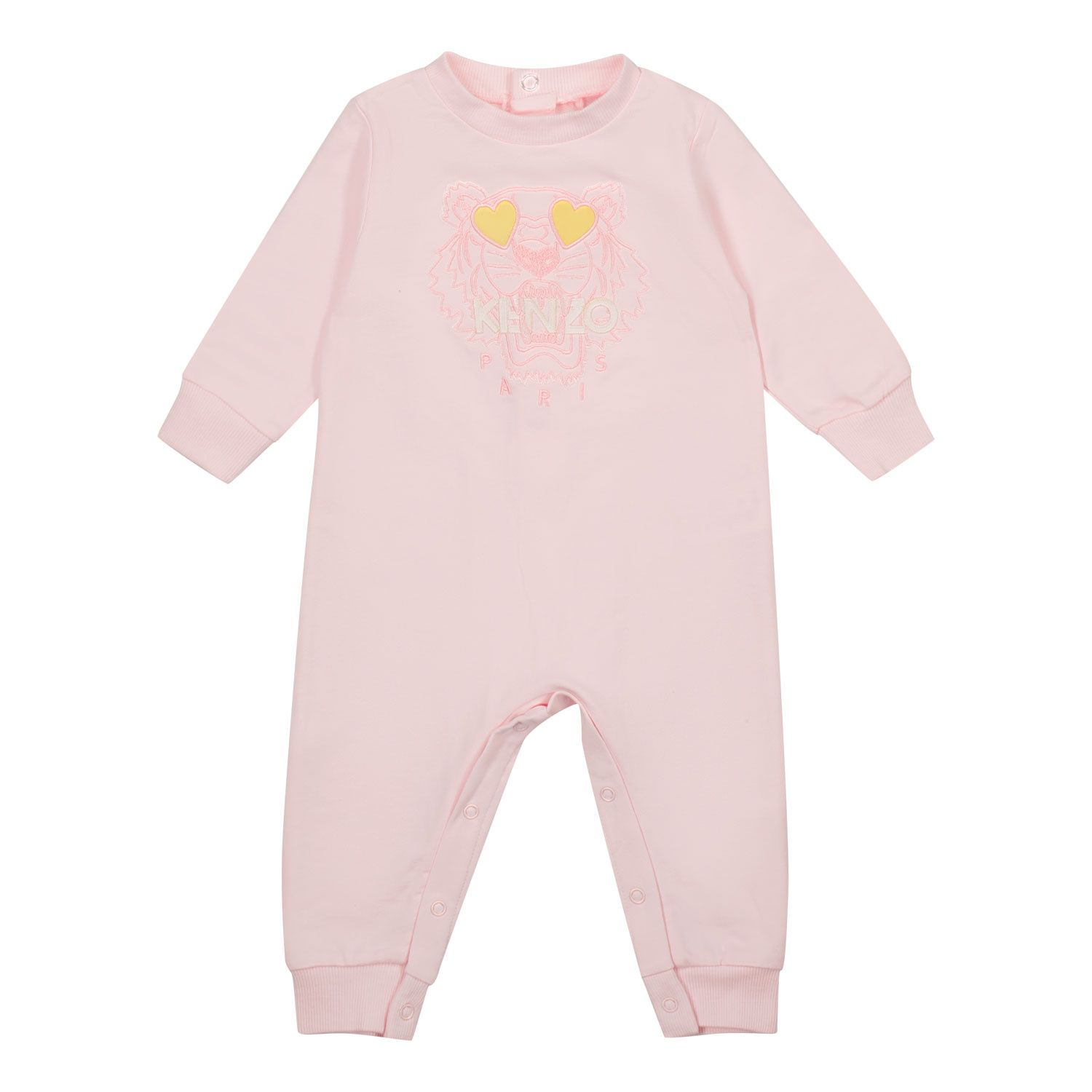 Picture of Kenzo K94011 baby playsuit light pink