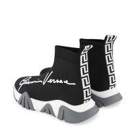 Picture of Versace 1000315 kids sneakers black