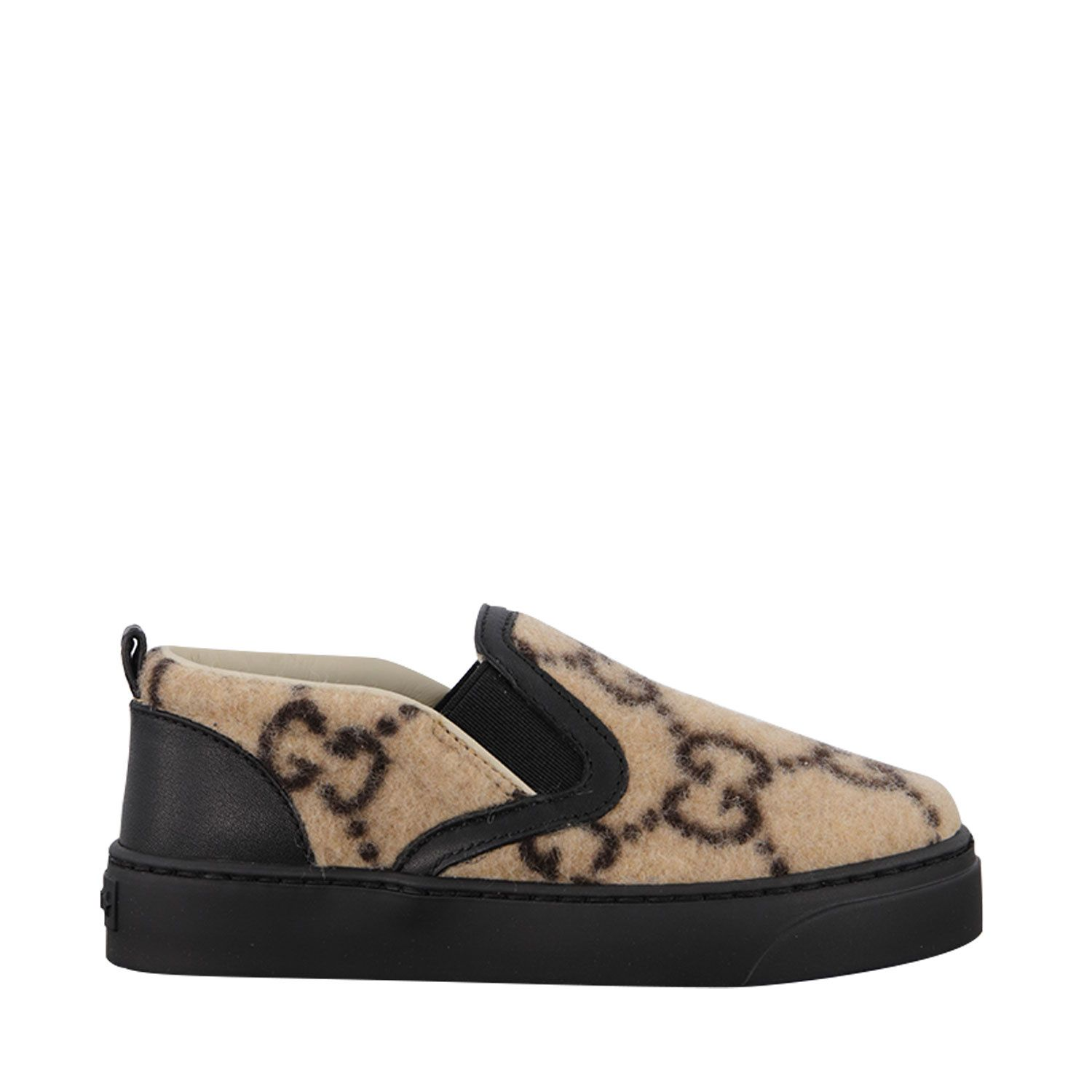 Picture of Gucci 580842 kids sneakers beige