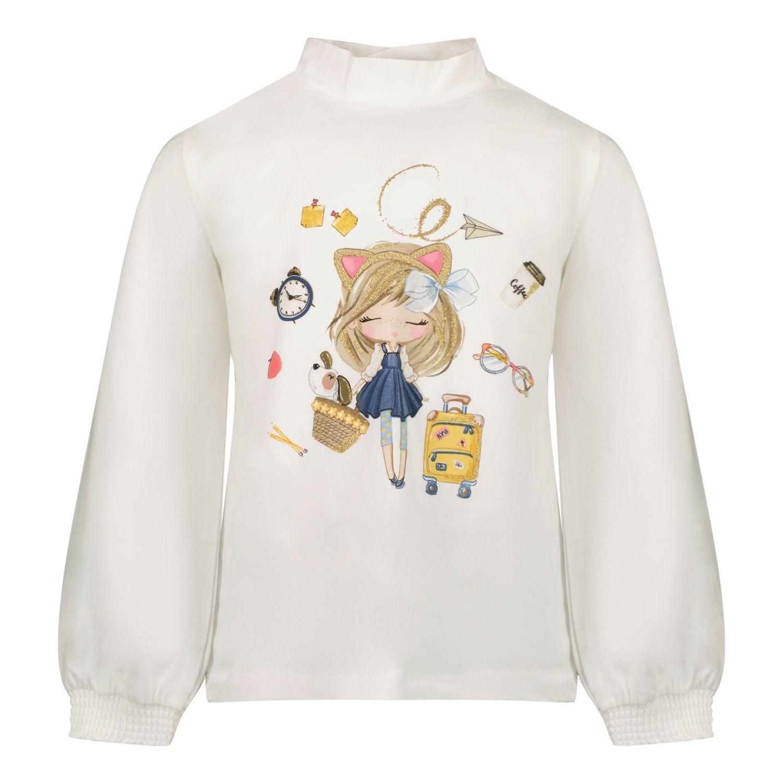 Bild von Mayoral 2080 Baby-T-Shirt Creme
