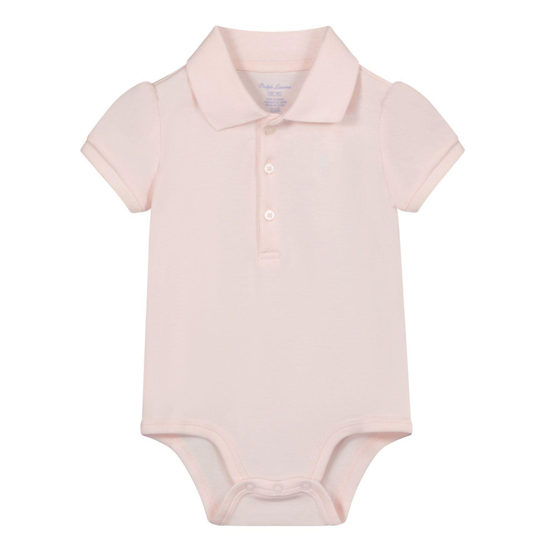 Picture of Ralph Lauren 310734922 rompersuit light pink