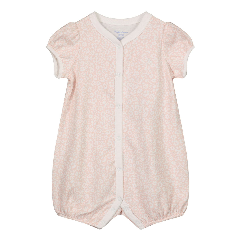 Picture of Ralph Lauren 310833418 baby playsuit light pink