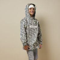 Picture of SEABASS ANORAK RAIN JACKET kids jacket white